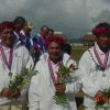 gold medal winners TOKELAU MENS TRIPLES