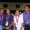 Nauru's winning team