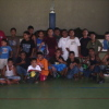 Elementary School Students at the Basketball Clinics