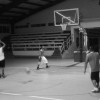 Kosrae State Team players during training