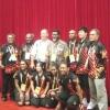 Team Van pose with PM