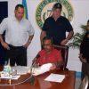 President Remengesau signing Directive
