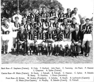 1969 Premiership Team