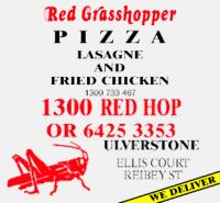 Red Grasshopper