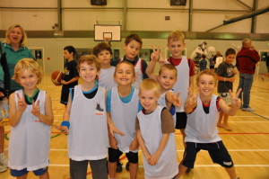 Mini Hoops Boys
