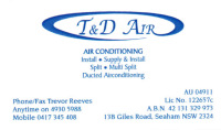 T & D Air Conditioning