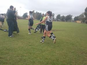 Team runs through Bronny's Banner