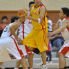 """""""This is my ball"""" seems to what Mark Anthony Isip is saying as he grabbed the ball."""