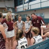 The girls get the coaching from Paul and Lauren