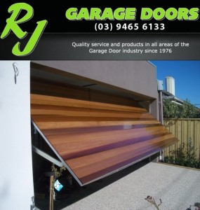 RJ Garage Doors Major Sponsor