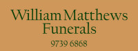 William Matthews Funerals