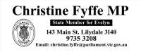 Christine Fyffe MP