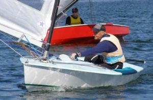 'Super' Bruce Ashton - Winner of the 2008 OK Short Course Regatta