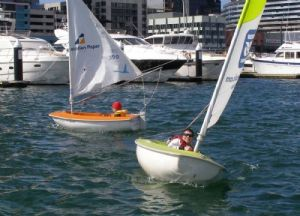 David Weatherly and Mark Thorpe sailed the Access 2.3