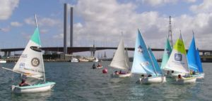 Racing gets underway at the Special Olympics Selection Regatta