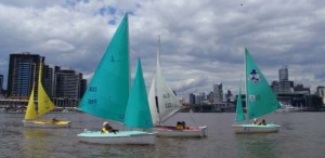 A beautiful day on Victoria Harbour