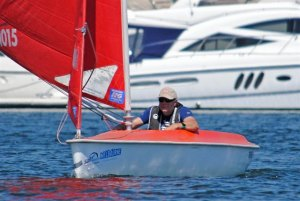 Russell Phillips - Short Course Racing at Docklands Yacht Club, February 2013