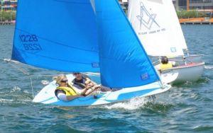 Cadeyrn Gaskin & Desiree Craig (DYC) enjoying the 303 and a little breeze