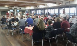 Foreshore Dinner - Another crowd photo