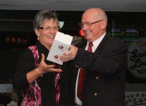 MYC Volunteer Award 2009-10, Sue Baines