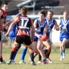 The late Nathan Harris in action for North Coffs. Photo: leigh Jensen / Coffs Coast Advocate