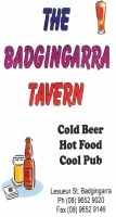 The Badgingarra Tavern