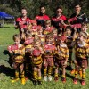 Kyle Turner from the Rabbitohs & Bears Premier League players with Ku-ring-gai Cubs Under 6's