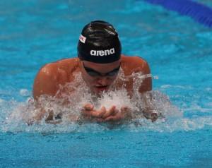 Benjamin Schulte 100m Breastroke