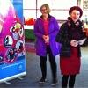 Skipper of 'Purple Haze' Susannah Gillam - winner Heat 3