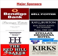 Major Sponsors 2015