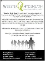 Webster Hyde Heath Advert