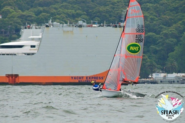 Crockett and Grimes sit in Second Place at the Halfway Point of the 2016 AYC - Photo Credit: Murnaghan Media