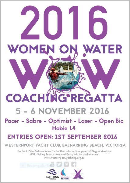 Women on Water flyer