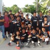Team PNI Middle Schools boys with coaches and managers. Photo: Marshall Islands Journal.
