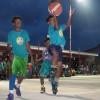 Uliga Point Gaurd makes a layup against SDA Elem. School. Photo: Rickiano Antibas.