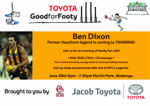Toyota Good for Footy Legends Lap
