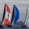 AWKR 2016 coloured kites on Port Phillip_credit Bruno Cocozza