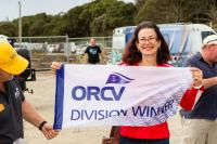 Angela Woodman winner of ORCV Latitude Race