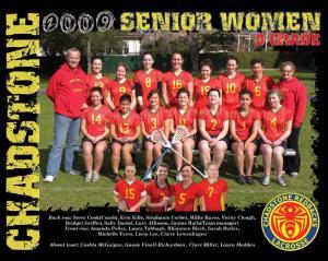 2009 Senior Women B grade