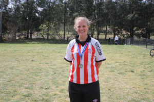 Elina Quigley - AAW Reserve Grade Player of the Match