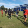 Canterbury 14's coach Kevin Te Hau provides expert instruction to 14's players at the 2018 Southern Zone Development Camp