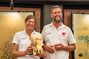 Annette Hesselman and husband Gerard Snyjders MOC 2018_Osaka Media